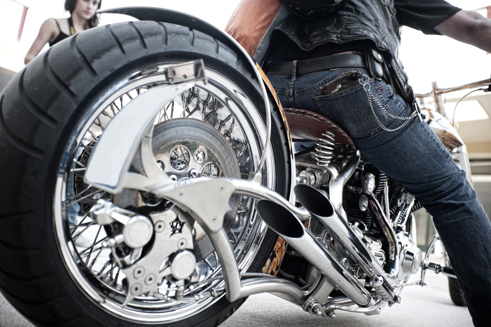 Common terms: Show chrome, triple-chrome plating and double nickel-chrome