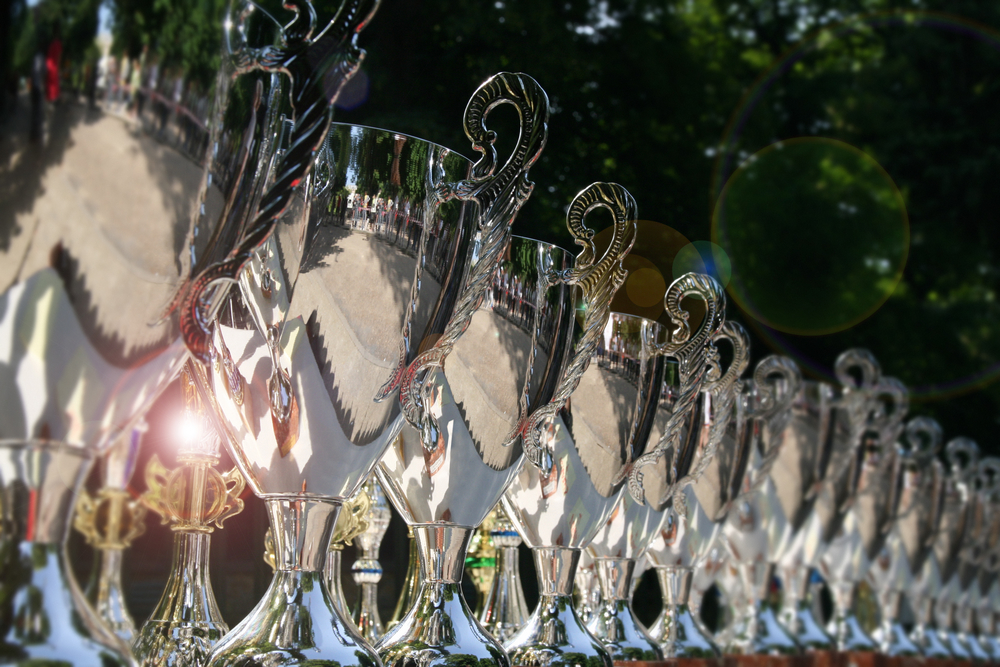 SPRAY CHROME FOR TROPHY AND AWARD MANUFACTURERS