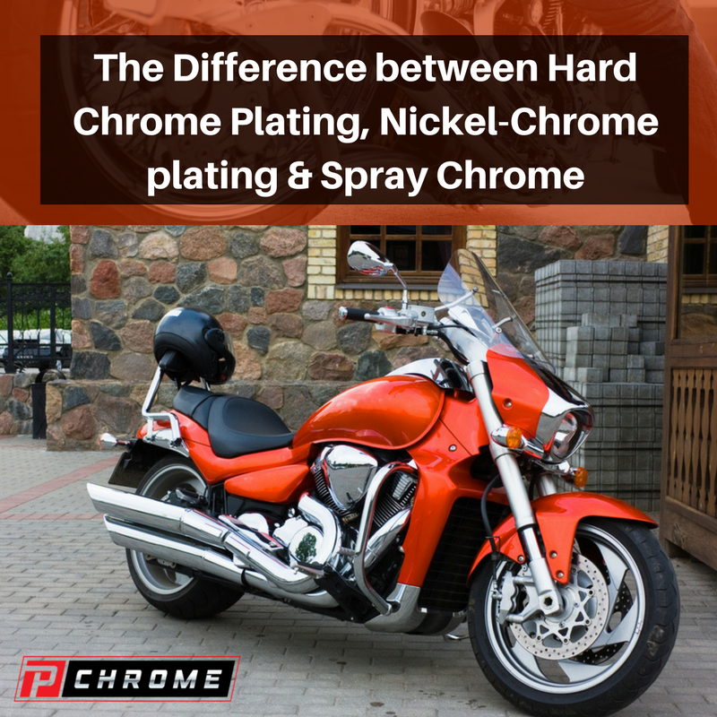 The Difference between Hard Chrome Plating, Nickel-Chrome plating & Spray Chrome
